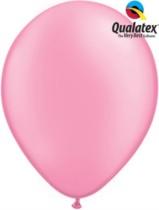 "11"" Neon Pink Latex Balloons - 100pk"