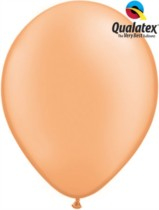 "11"" Neon Orange Latex Balloons - 100pk"