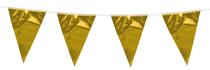 Mini Gold Flag Banner Bunting 3M
