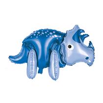 """Blue Giant Standing Dinosaur 34"""" Foil Balloon"""