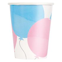 Gender Reveal 9oz Paper Cups 8pk