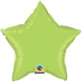 "Lime Green 20"" Star Foil Balloon"