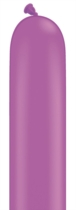 Qualatex 260Q Neon Violet Latex Modelling Balloons 100pk