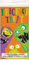 Halloween Little Monsters Plastic Tablecover