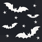 Halloween Bats Napkins 16pk
