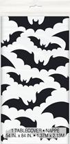 Halloween Bats Plastic Tablecover