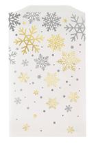 Christmas Glassine Snowflake Treat Bags 8pk