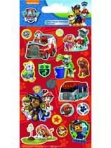 Paw Patrol Foil Sticker Sheet 5pk