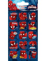 Spiderman Foil Sticker Sheet 5pk