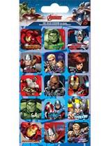 Avengers Character Foil Sticker Sheet 5pk