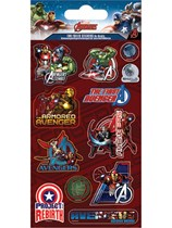 Avengers Foil Sticker Sheet 5pk