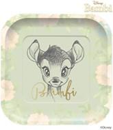 Bambi Deluxe Square 25cm Paper Plates 4pk