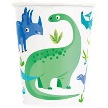 Dinosaur Party 9oz Paper Cups
