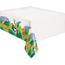 Animal Safari Plastic Tablecover