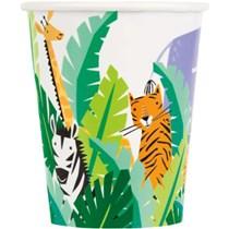Animal Safari 9oz Paper Cups 8pk