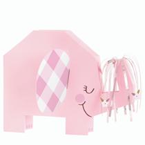 Pink Baby Elephant Folded Centrepiece Decoration