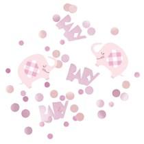 Pink Baby Elephant Confetti 5oz