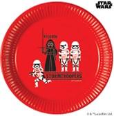 Star Wars Deluxe 23cm Paper Plates 8pk