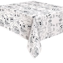 Ahoy Pirate Colouring Paper Tablecover