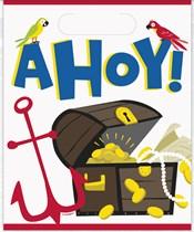 Ahoy Pirate Loot Bags 8pk