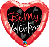 "Be My Valentine 18"" Heart Foil Balloon"