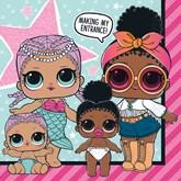 LOL Surprise Dolls Napkins 16pk