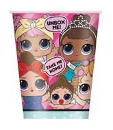 LOL Surprise Dolls 9oz Cups 8pk