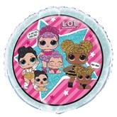 """LOL Surprise Dolls 18"""" Foil Balloon"""