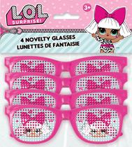 LOL Surprise Dolls Novelty Glasses 4pk