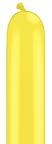 Qualatex 260Q Yellow Latex Modelling Balloons 100pk