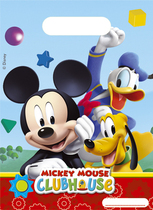 6 Mickey Mouse Clubhouse Party Bags