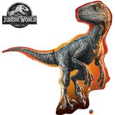 "Jurassic World Raptor 38"" Foil Balloon"