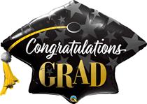 "Congratulations Grad 41"" Foil Balloon"