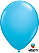 """16"""" Robin's Egg Blue Latex Balloons 50pk"""