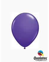 """Qualatex Fashion 5"""" Purple Violet Latex Balloons 100pk"""