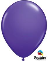 """Qualatex Fashion 11"""" Purple Violet Latex Balloons 100pk"""