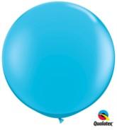 Robin's Egg Blue Round 3ft Latex Balloons 2pk