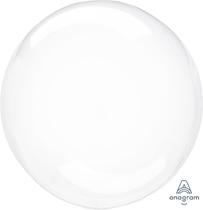 "Anagram Crystal Clearz 18 - 22"" Clear Balloon (Loose)"