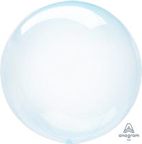 "Anagram Crystal Clearz 18 - 22"" Blue Balloon (Pkgd)"