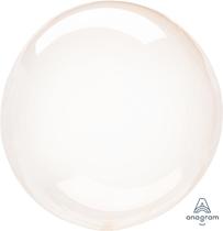 "Anagram Crystal Clearz 18 - 22"" Orange Balloon (Pkgd)"