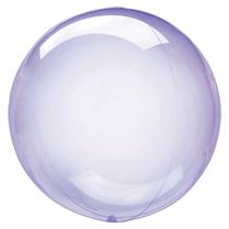 "Anagram Crystal Clearz 18"" Purple (Pkgd)"