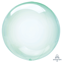 """Anagram Crystal Clearz 18"""" Green (Pkgd)"""