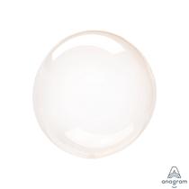 "Anagram Crystal Clearz Petite 12"" Orange (Pkgd)"