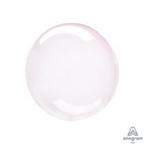 "Anagram Crystal Clearz Petite 12"" Light Pink (Pkgd)"