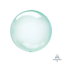 """Anagram Crystal Clearz Petite 12"""" Green (Pkgd)"""
