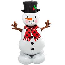 "Christmas Airloonz Snowman 55"" Foil Balloon"