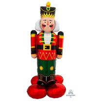 "Christmas Airloonz Nutcracker 61"" Foil Balloon"