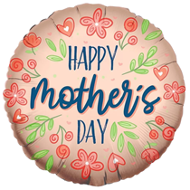 """ECO Happy Mother's Day 18"""" Foil Balloon"""