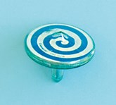 Plastic Spinning Tops Party Favours 8pk