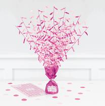 Pink Glitz Centrepiece With Stickers
